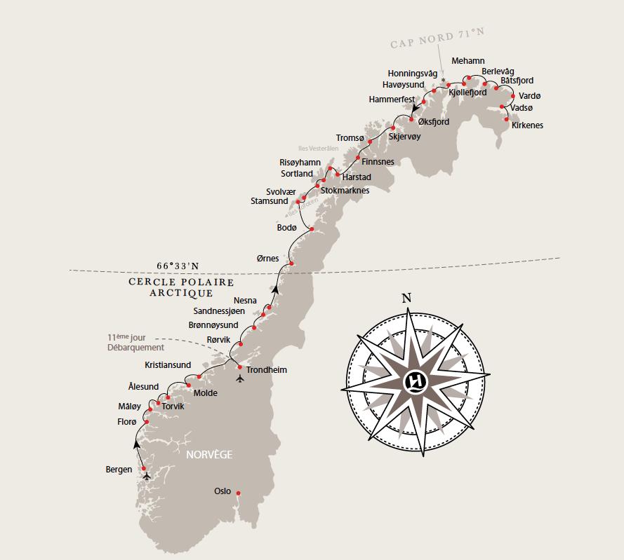 Hurtigruten   BLOG DE MARTINE DENOUNE