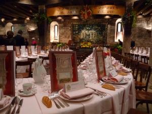 les menus illustres ,ouverture du diner