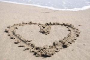 coeur plage #2